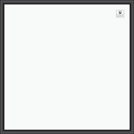 U Brands Wall Mounted Magnetic Whiteboard