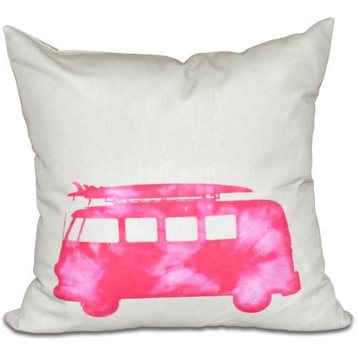 "Simply Daisy 16"" x 16"" BeachDrive Geometric Print Pillow"