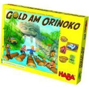 HABA Orinoco Gold A Thrilling Competition Board Game of Tactical Thinking for Ages 7 and Up (Made in Germany)