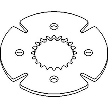 L78682 New Transmission Disc For John Deere Tractor 6410