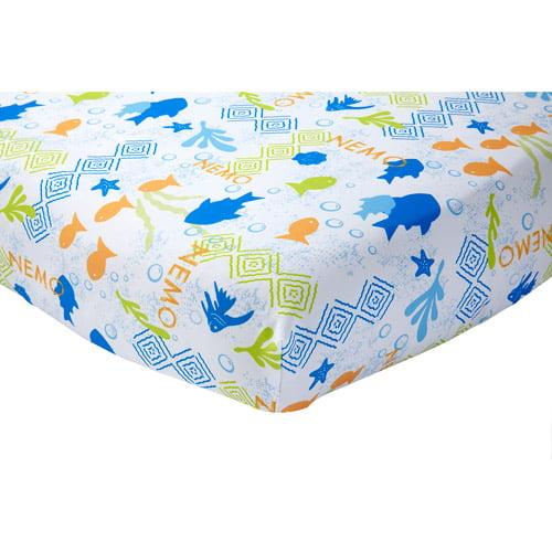 disney nemo 3-piece toddler bedding set with bonus matching pillow