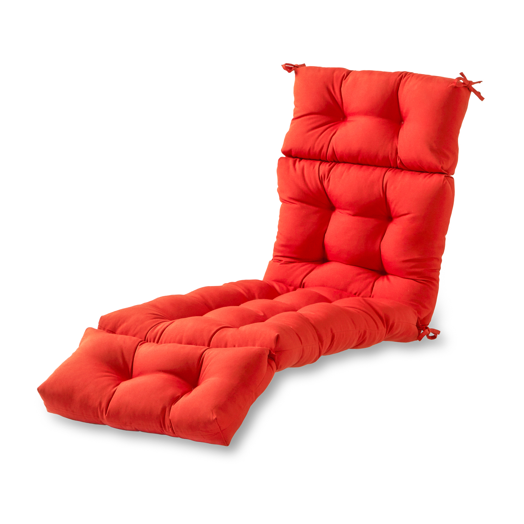 Greendale Home Fashions Solid Outdoor Chaise Lounge Cushion