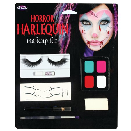 Halloween Harloquin Makeup Kit by Fun - Fun World Halloween Makeup