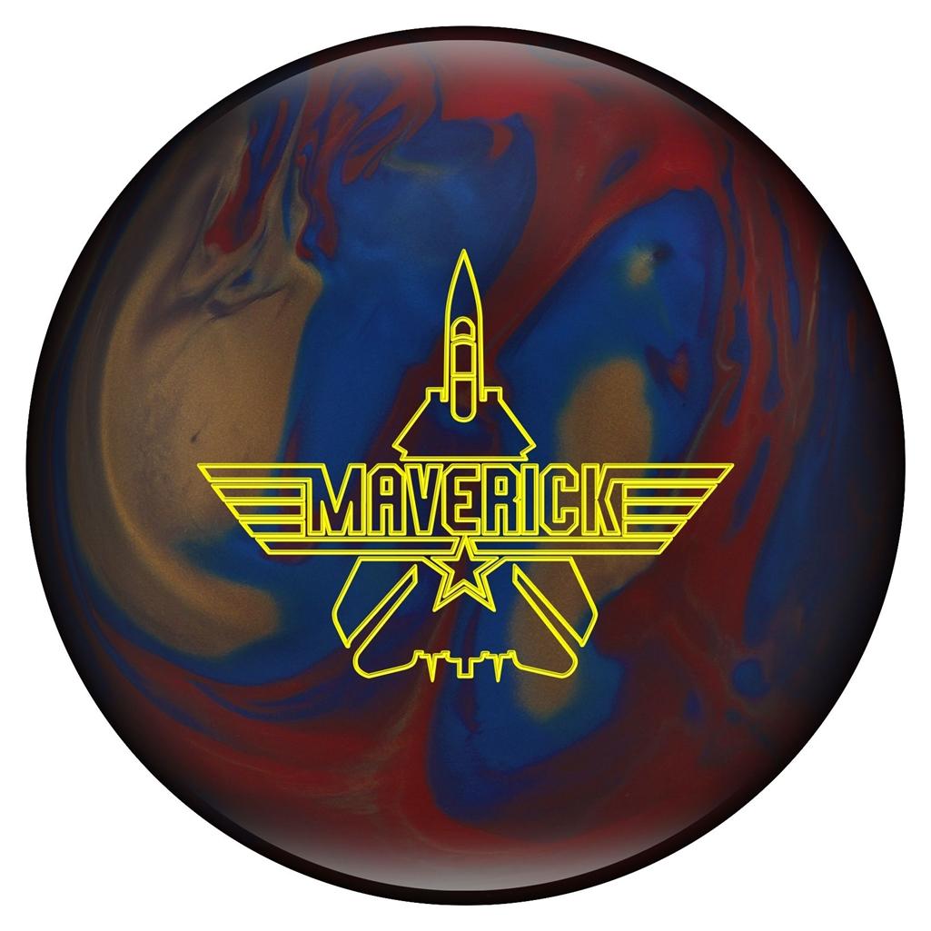 Ebonite Maverick Pearl Bowling Ball- Blue Bronze Red (15 lbs) by Ebonite Bowling Products