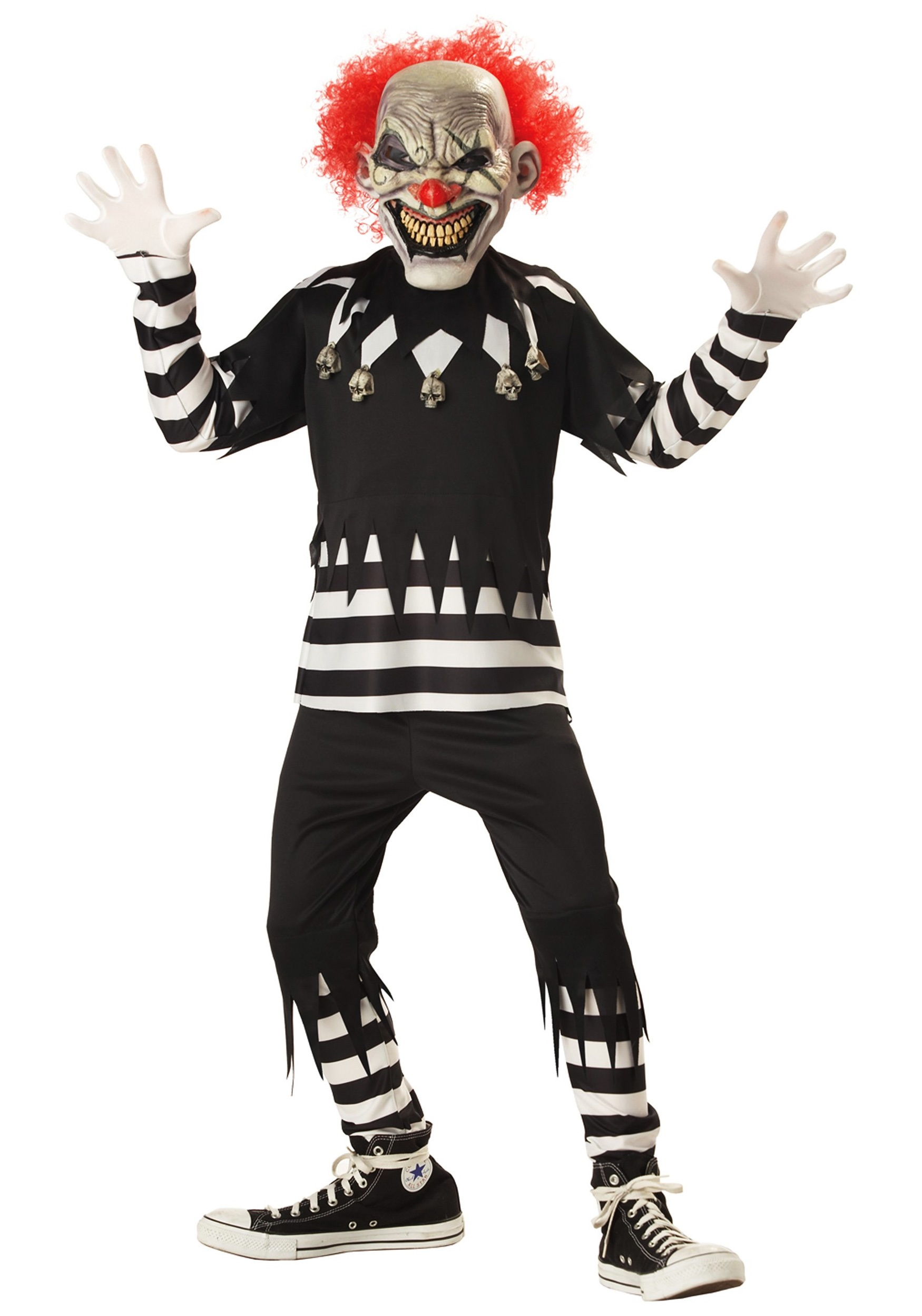 Amazing Kids Psycho Clown Costume   Walmart.com