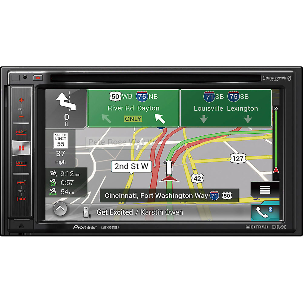 """Pioneer AVIC-5201NEX In-Dash Navigation AV Receiver with 6.2"""" WVGA Touchscreen... by Pioneer"""