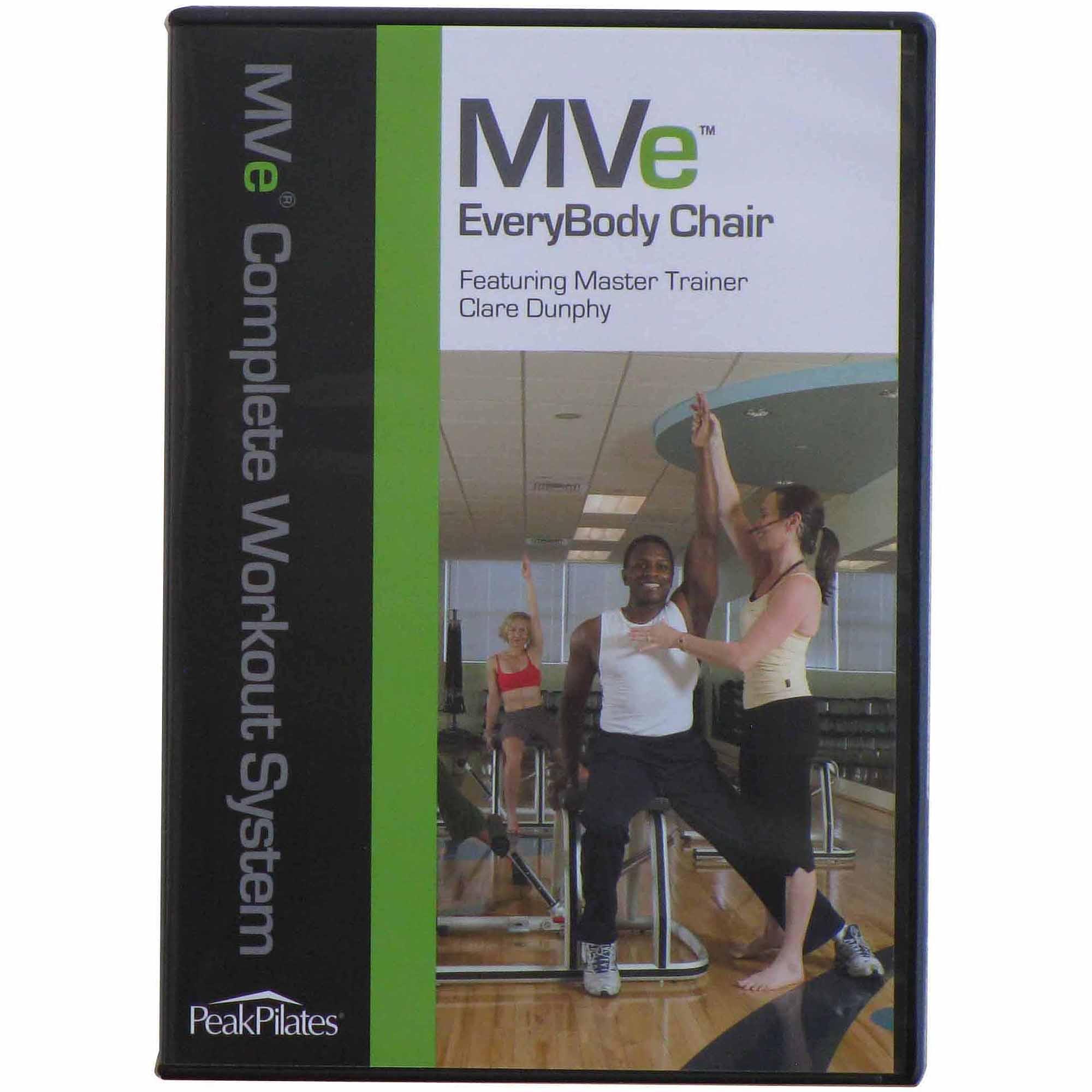 Peak Pilates MVe EveryBody Chair Workout DVD