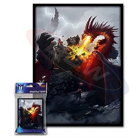 (100) Max Protection Death Grip Design Large Gaming Trading Card Protector Sleeves for Magic the Gathering, Pokemon, World of Warcraft, Kaijudo Duel Masters and Cardfight Vanguard Cards Duel Masters Base Set