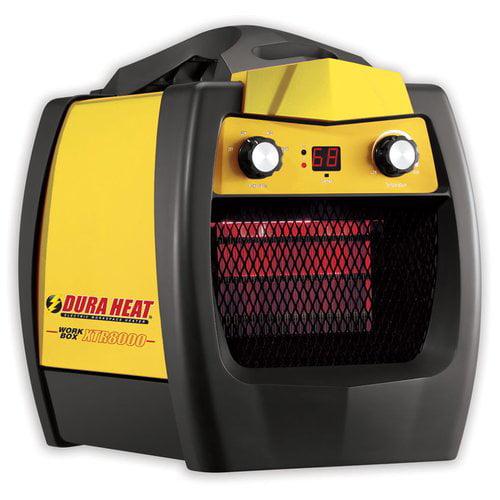 World Marketing 5200 BTU Portable Electric Fan Workbox Utility Heater