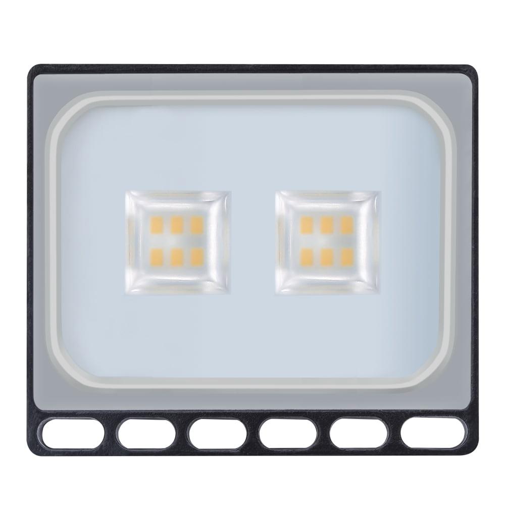 Ultraslim 10W LED Floodlight Outdoor Security Lights 110V Warm White