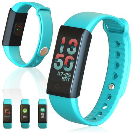 Active Fitness Monitoring Sports Band w/ Heart Rate Sensor / Blood Pressure / Pedometer / Calorie Counter / Sleep Monito (Active Monitoring)