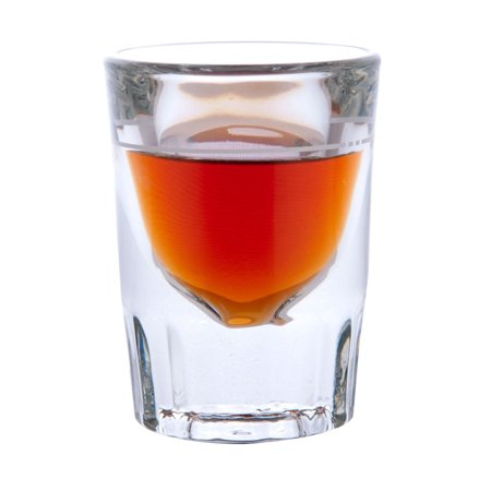 Libbey Whiskey - Libbey Glassware 5126 Fluted Whiskey Glass, 2 oz.