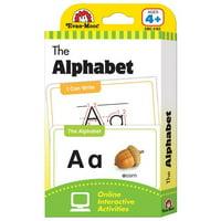 Evan-Moor EMC4162BN Learning Line the Alphabet Flashcard Set - Grades PreK Plus - Pack of 3