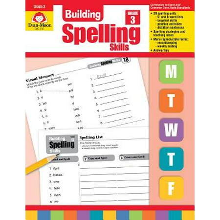 Building Spelling Skills Grade 3 (Teacher)