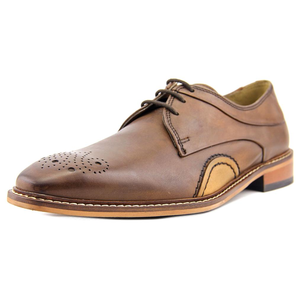 Giorgio Brutini Reddington Men  Square Toe Leather Brown Oxford