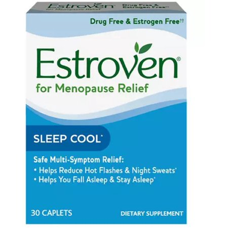 - 2 Pack - Estroven Sleep Cool Caplets, 30 ea