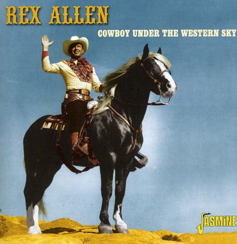 Cowboy Under the Western Sky