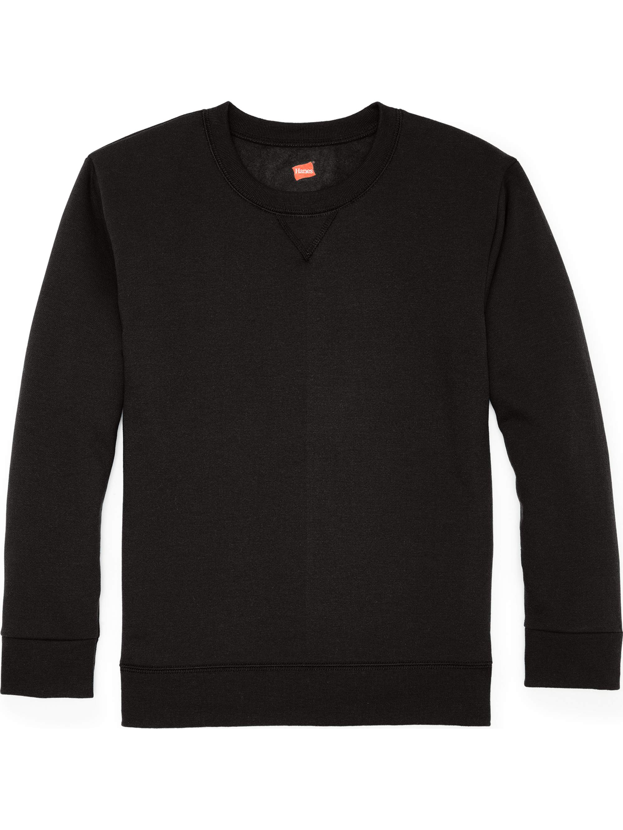 Solid Fleece V-notch Crew Neck Sweatshirt (Little Boys & Big Boys)