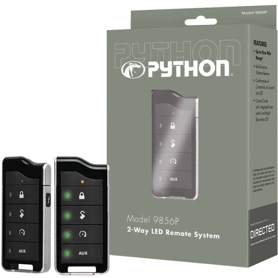 Python 9856p 9856p 2-Way RF Remote and Antenna with 0.5-Mile Range