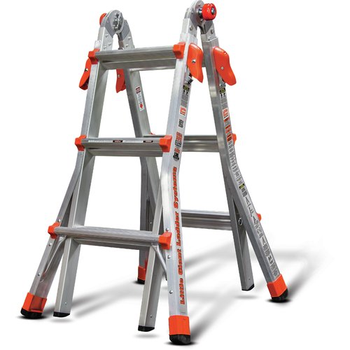 Little Giant Ladder Systems 13 ft Aluminum Multi-Position Ladder by