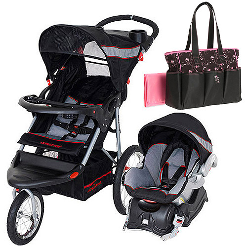 Baby Trend Expedition Jogger Travel System with 20% off Priscilla Diaper Bag