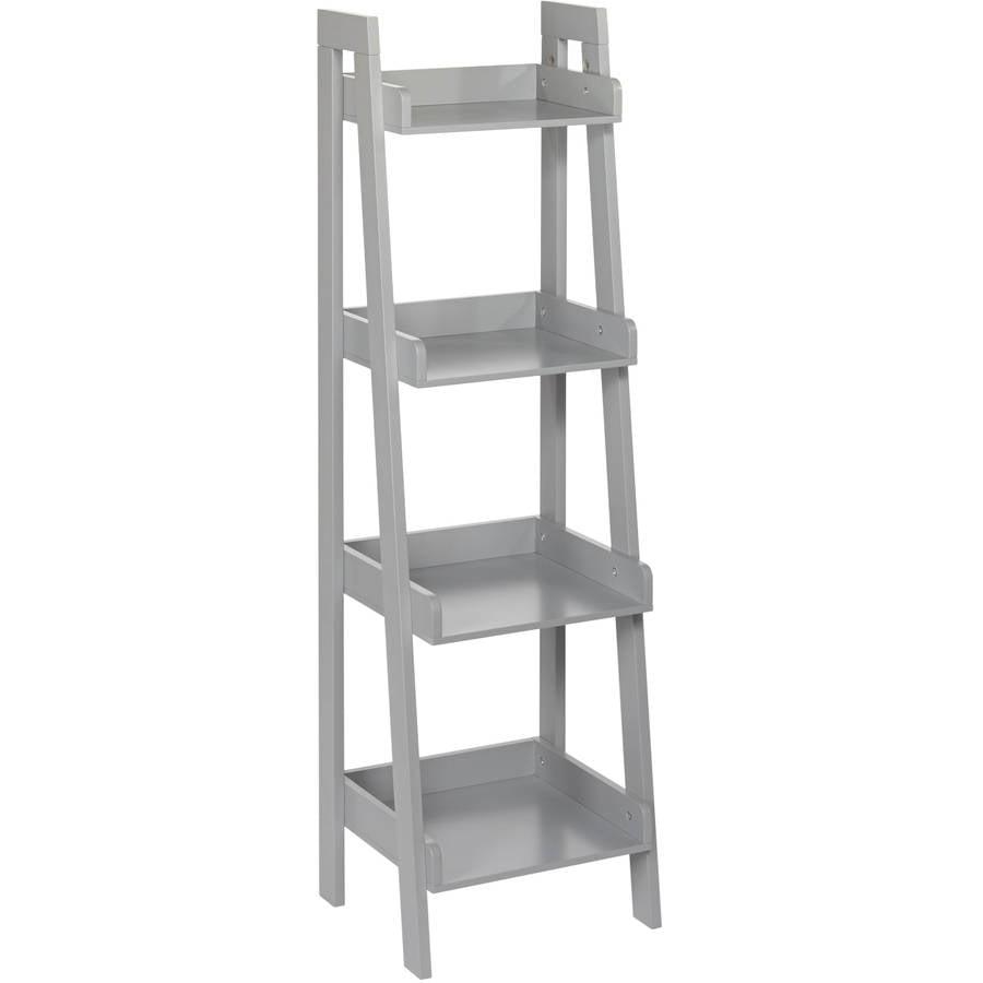 RiverRidge Kids 4-Tier Ladder Shelf, Grey by Sourcing Solutions, Inc.