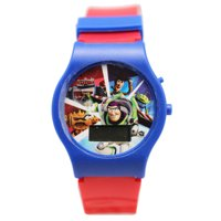 Disney Pixar's Toy Story Blue/Red Band Buzz and Woody Digital Kids Watch