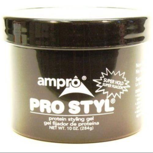 Ampro Protein Styling Gel, Super Hold 10 oz (Pack of 4)