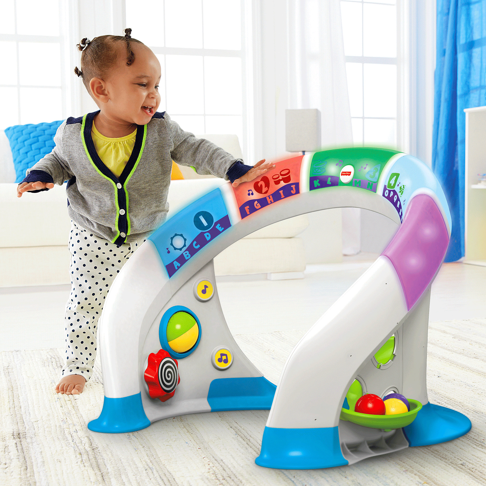 Fisher Price Bright Beats Smart Touch Play Space by Fisher-Price