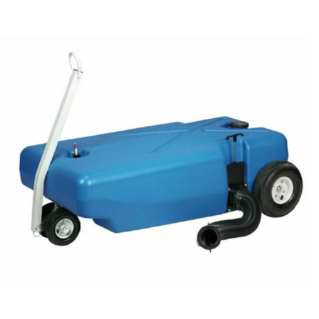 Barker 42-Gallon 4-Wheeler Tote Along (30844) RV Portable Waste Tank