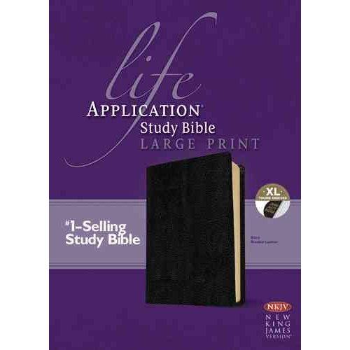 Life Application Study Bible: New King James Version, Black, Bonded Leather