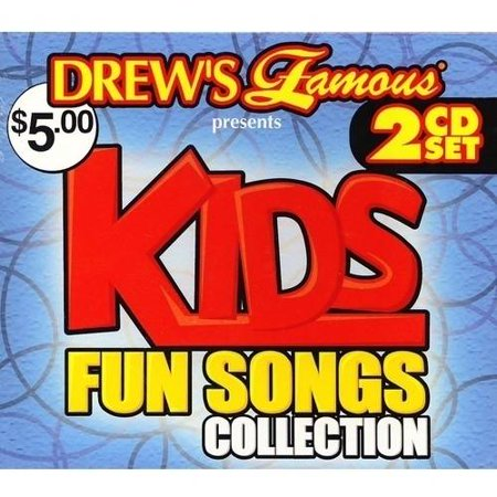 Drew's Famous - Kids Fun Songs Collection (2CD)](Fun Halloween Pop Songs)