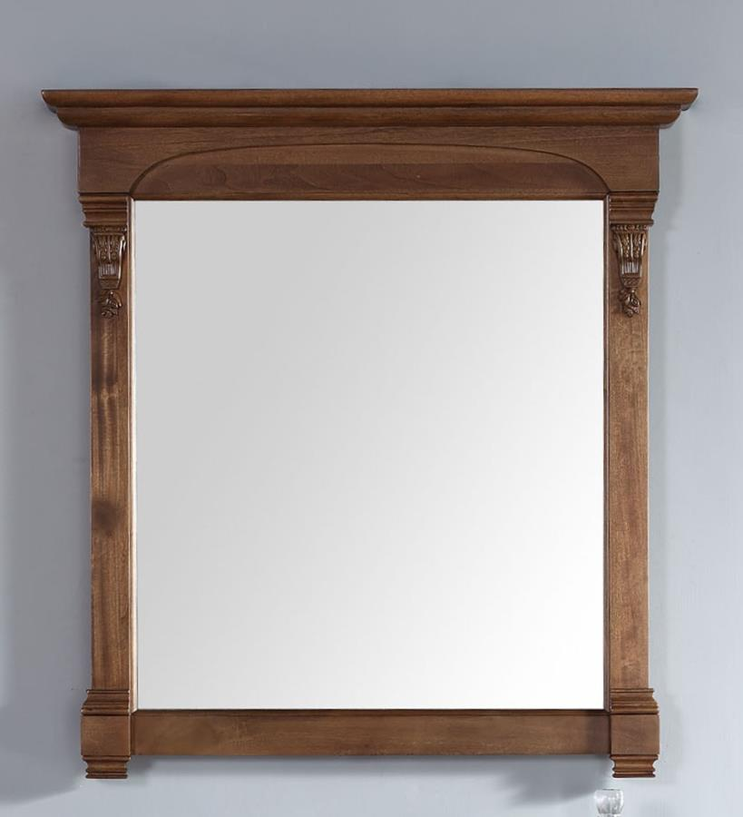 "James Martin Brookfield 39.5"" Mirror In Country Oak"