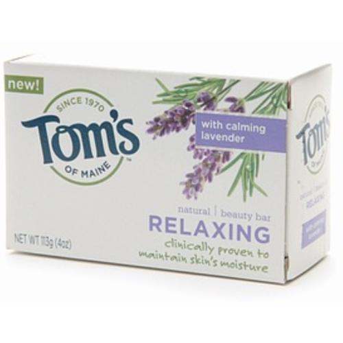 Tom's of Maine Natural Beauty Bar Relaxing 4 oz (Pack of 4)