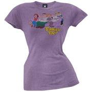 Family Guy - On Couch Juniors T-Shirt - Medium