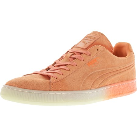 ffbe7d4cc37 PUMA - Puma Men s Emboss Iced Fluo Fade Suede Fluorescent Peach Ankle-High  Fashion Sneaker - 13M - Walmart.com