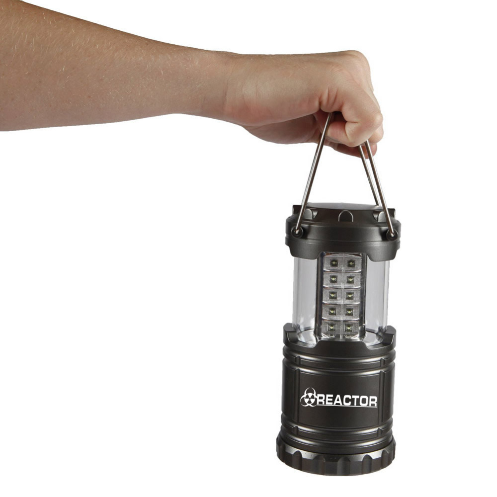 Reactor Black 1800 LED As Seen On TV Ultra Bright Portable Outdoor LED Camping Atomic Bright Lantern