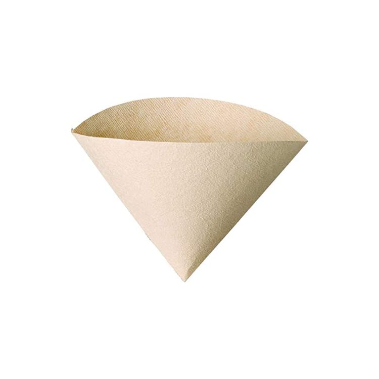 Size 03 Natural 100 Count Hario V60 Disposable Paper Coffee Filters Untabbed