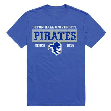 Seton Hall University Pirates Established Tees T-Shirt](Pirate Apparel)