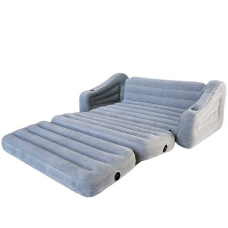 Intex Queen Inflatable Pull Out Sofa Airbed Amp Ultra Lounge