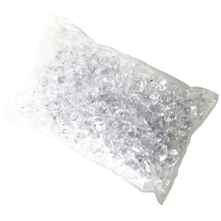 Perfect Maze Acrylic Crystal Diamond Ice Rock Table Scatter Decoration for Weddings, Parties, and Special Events (Clear, 1 Pound) ()