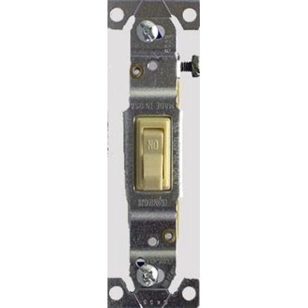 Leviton S01-01451- 2IS Toggle Switch Single Pole 15 Amp 15 Amp Single Pole