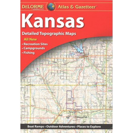 Delorme kansas atlas & gazetteer 5e : deks: 9781946494030