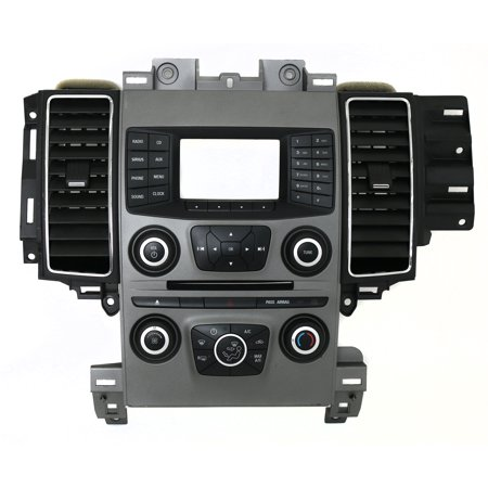 (2013 Ford Taurus Control Panel with Climate Controls and Vents PN DG1T-18A802-FD - Refurbished)