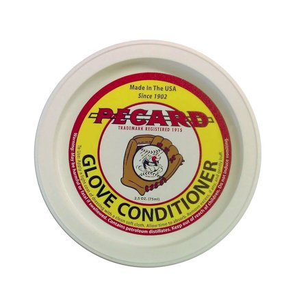 Baseball Glove Conditioner, For all oil tanned baseball gloves By PECARD