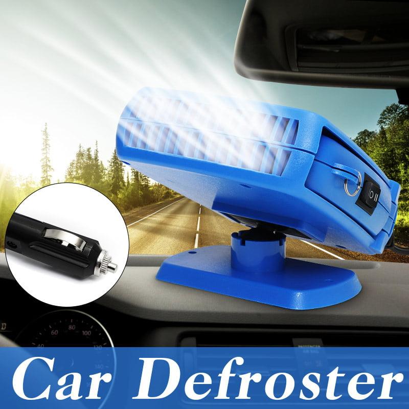 Portable Car Ceramic Heating Cooling Heater 200W 12V Fan Defroster Demister USA