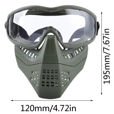 Ant Double Mode Headband System Detachable Lightweight Mask Solid Color - image 4 of 10