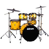 ddrum Journeyman Gen. 2 Player 5-Piece Drumset w/ Hardware - Flash Yellow