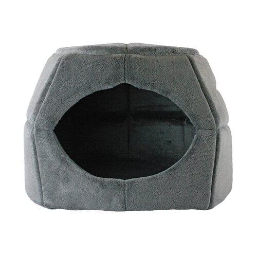 Tucker Murphy Pet Krieger Plush Convertible Pet Cuddler Hooded/Dome