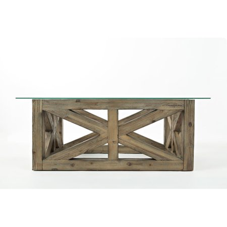 Laurel foundry modern farmhouse kara coffee table for Modern farmhouse coffee table